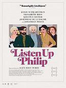 affiche sortie dvd Listen Up Philip