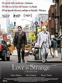 affiche sortie dvd love is strange