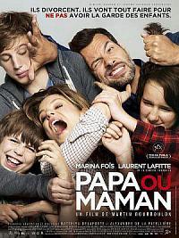affiche sortie dvd papa ou maman