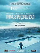 affiche sortie dvd Things People do