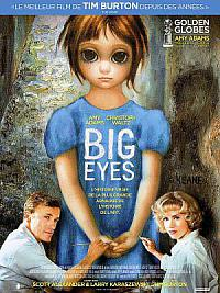 affiche sortie dvd Big Eyes