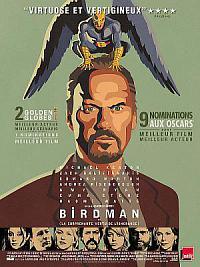 affiche sortie dvd birdman