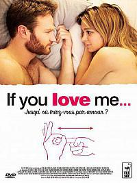 affiche sortie dvd if you love me...