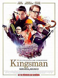 affiche sortie dvd kingsman - services secrets