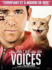affiche sortie dvd The Voices