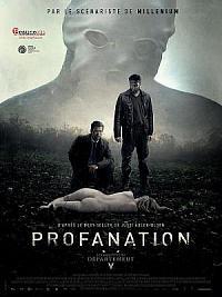 affiche sortie dvd les enquetes du departement v - profanation