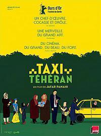 affiche sortie dvd taxi teheran