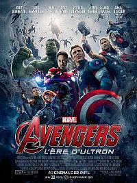 affiche sortie dvd avengers 2 - l'ere d'ultron