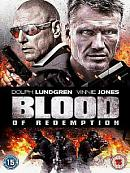 affiche sortie dvd Blood of Redemption