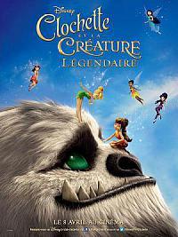 affiche sortie dvd clochette et la creature legendaire