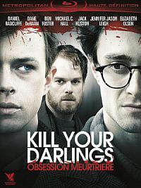 affiche sortie dvd kill your darlings - obsession meurtriere