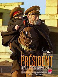 affiche sortie dvd le president