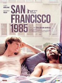 affiche sortie dvd san francisco 1985