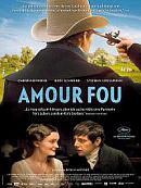 affiche sortie dvd amour fou