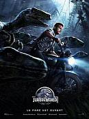 affiche sortie dvd jurassic world