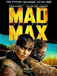 affiche sortie dvd mad max - fury road