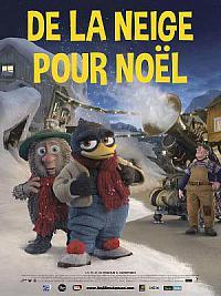 affiche sortie dvd de la neige pour noel