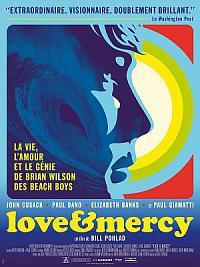 affiche sortie dvd love & mercy, la veritable histoire de brian wilson des beach boys