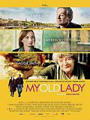 affiche sortie dvd My Old Lady