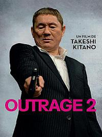 affiche sortie dvd outrage 2