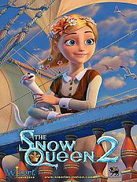 affiche sortie dvd the snow queen 2