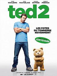 affiche sortie dvd ted 2