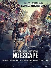 affiche sortie dvd no escape