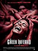 affiche sortie dvd the green inferno