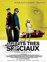 affiche sortie dvd agents tres speciaux - code u.n.c.l.e