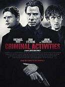 affiche sortie dvd Criminal Activities