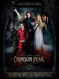 affiche sortie dvd crimson peak