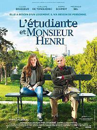 affiche sortie dvd l'etudiante et monsieur henri