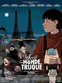 affiche sortie dvd avril et le monde truque
