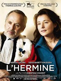 affiche sortie dvd l'hermine