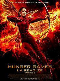 affiche sortie dvd hunger games - la revolte : partie 2