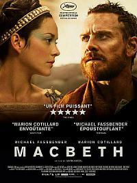 affiche sortie dvd macbeth