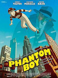 affiche sortie dvd Phantom Boy