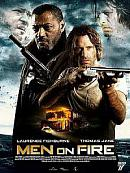affiche sortie dvd Men on Fire