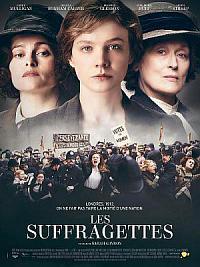affiche sortie dvd les suffragettes