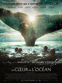 affiche sortie dvd au coeur de l'ocean