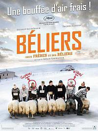 affiche sortie dvd beliers