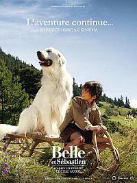 affiche sortie dvd belle et sebastien - l'aventure continue