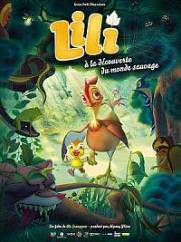 affiche sortie dvd lili a la decouverte du monde sauvage