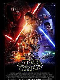 affiche sortie dvd star wars - le reveil de la force