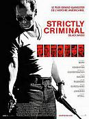affiche sortie dvd Strictly Criminal