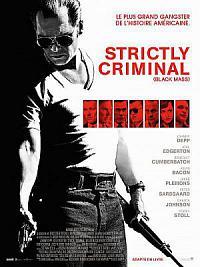 affiche sortie dvd strictly criminal