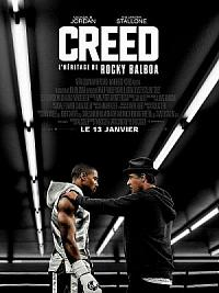 affiche sortie dvd creed - l'heritage de rocky balboa