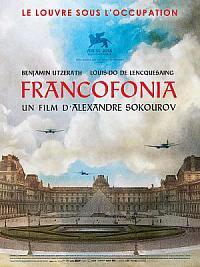 affiche sortie dvd francofonia, le louvre sous l'occupation