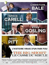 affiche sortie dvd the big short : le casse du siecle