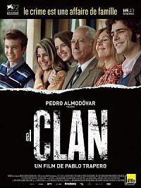 affiche sortie dvd el clan